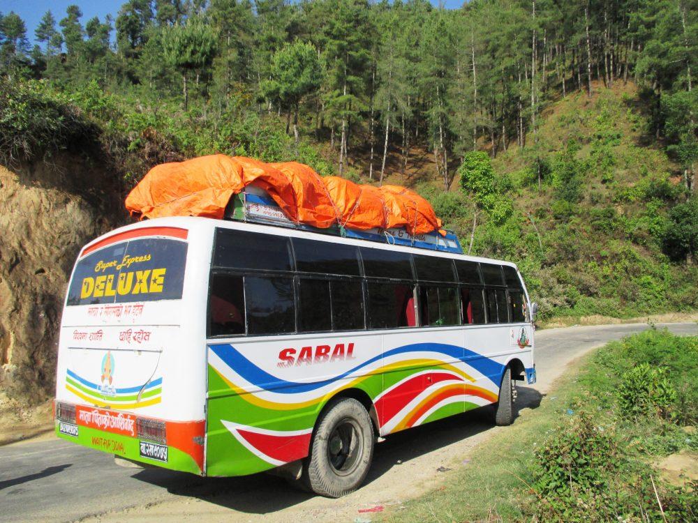 Kathmandu Syabrubesi Bus Ticket